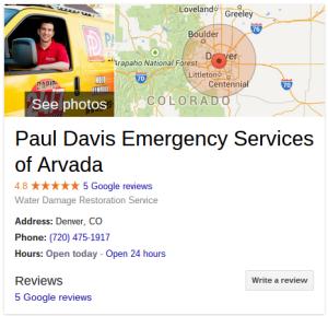 paul davis energency service arvada   Google Search